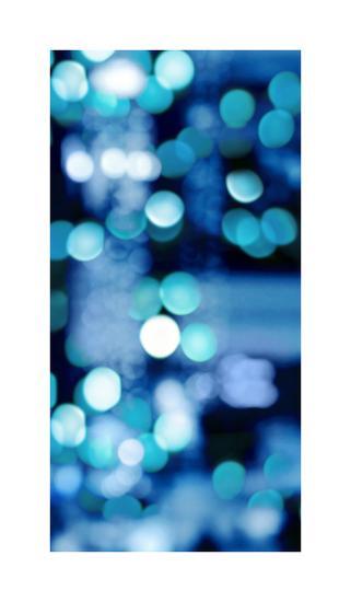 Brilliant Blue Triptych III-Kate Carrigan-Giclee Print