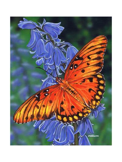 Brilliant Eye Jewel-Marilyn Barkhouse-Art Print