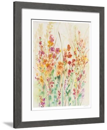 Brilliant Floral II-Tim O'toole-Framed Limited Edition
