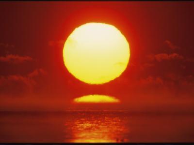Brilliant Sunrise Over Nosuke Bay-Tim Laman-Photographic Print