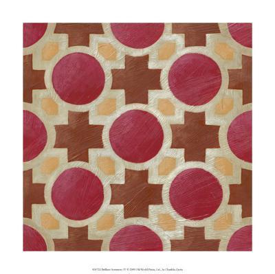 Brilliant Symmetry IV-Chariklia Zarris-Premium Giclee Print