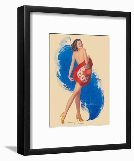 Brim Full of Beauty-Rolf Armstrong-Framed Art Print
