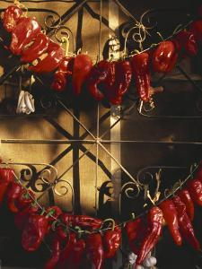 Israel: Red Peppers Drying in the Sun by Brimberg & Coulson