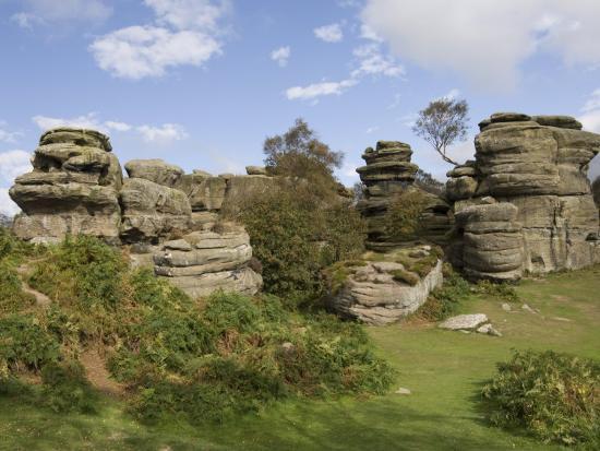 Brimham Rocks, Brimham Moor, Near Ripon, North Yorkshire, England, United Kingdom, Europe-James Emmerson-Photographic Print