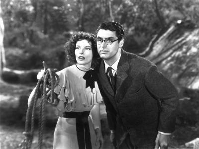 Bringing Up Baby, Katharine Hepburn, Cary Grant, 1938--Photo