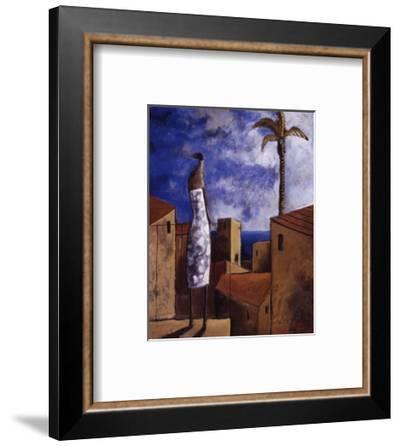 Brisa junto al mar-Didier Lourenco-Framed Art Print