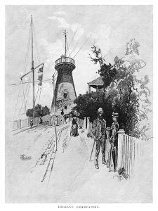 Brisbane Observatory, 1886