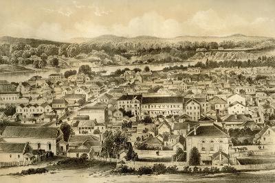 Brisbane, Queensland, Australia, 1879-McFarlane and Erskine-Giclee Print