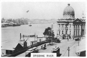 Brisbane River, Queensland, Australia, 1928