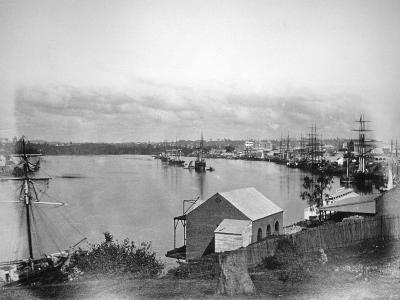 Brisbane River, South-East Queensland, Australia, 1870-1880--Giclee Print