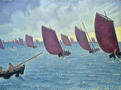 Brise, Concarneau - Presto, 1891-Paul Signac-Giclee Print