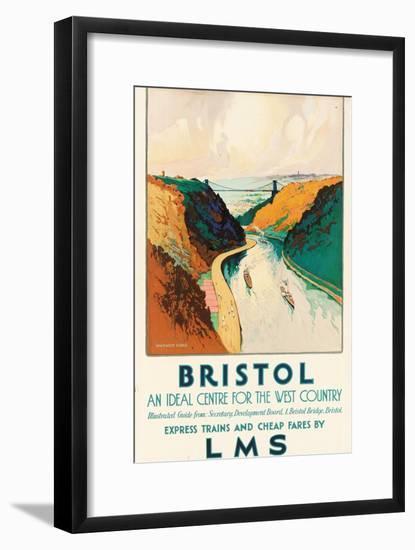 Bristol, 1931-Warwick Goble-Framed Giclee Print