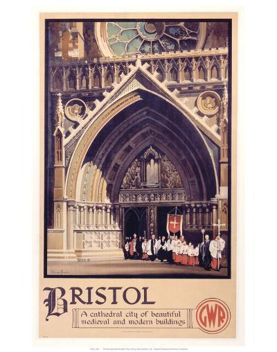 Bristol Cathedral Choir--Art Print