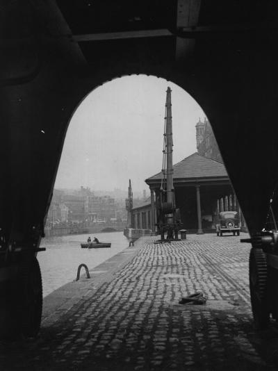 Bristol Dock--Photographic Print