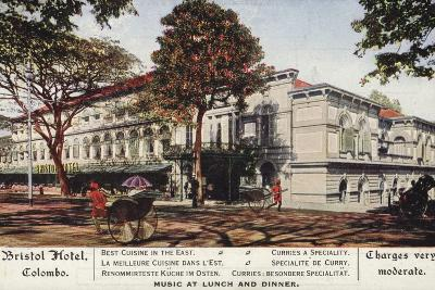 Bristol Hotel in Colombo--Photographic Print