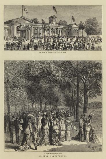 Bristol Illustrated--Giclee Print