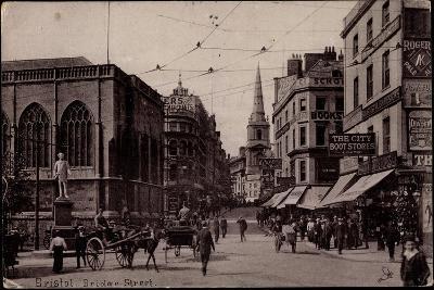 Bristol South West England, Bridge Street,Boot Store--Giclee Print