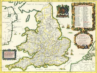 Britannia Atlas, 1675-John Ogilby-Giclee Print