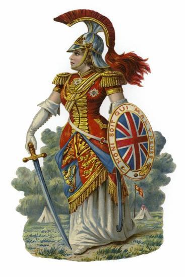 Britannia--Giclee Print