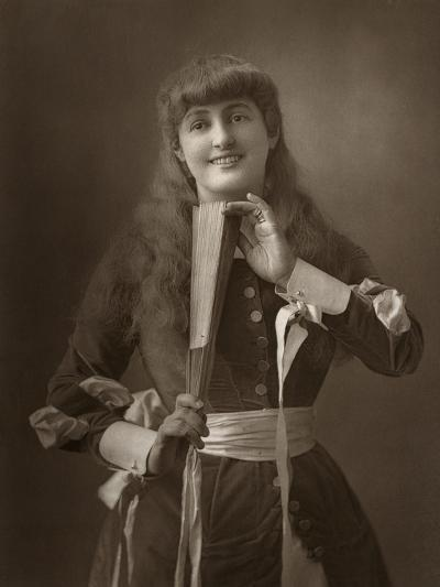 British Actress Alice Atherton in Oliver Grumble, 1886- Barraud-Photographic Print