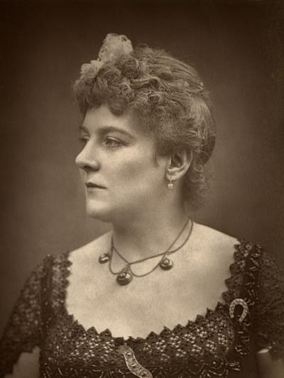 British Actress Henrietta Lindley in Jim the Penman, 1886- Barraud-Photographic Print