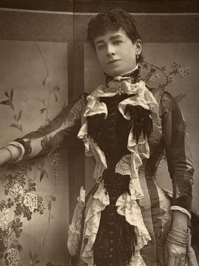 British Actress Lady Monckton in Jim the Penman, 1886- Barraud-Photographic Print