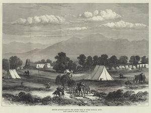 British Advance Camp to the Khyber Pass, at Hurri Singh Ka Bourj