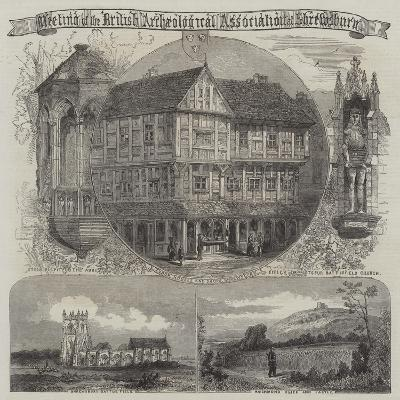 British Archaeological Association at Shrewsbury--Giclee Print