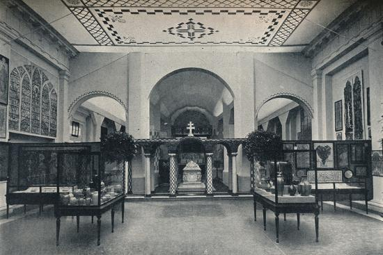 'British Arts and Crafts Section, Ghent International Exhibition', 1913-Unknown-Photographic Print