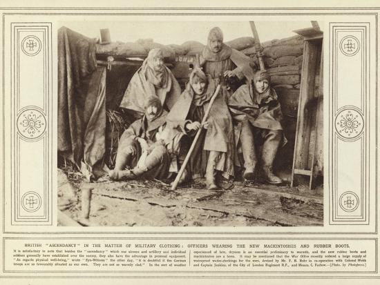 British Ascendancy in the Matter of Military Clothing--Photographic Print