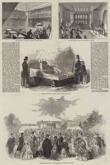 British Association in Cambridge--Giclee Print