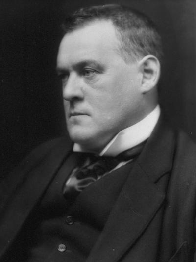 British Author and Historian Hilaire Belloc, Photographed by E. O. Hoppe-E.O. Hoppe-Premium Photographic Print