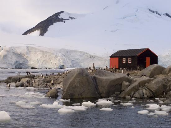 British Base, Port Lockroy, Antarctic Peninsula, Antarctica, Polar Regions-Sergio Pitamitz-Photographic Print