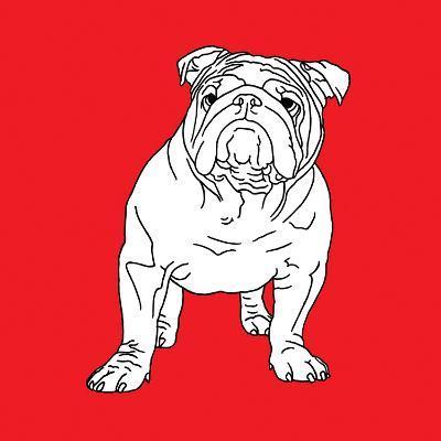 British Bulldog-Anna Nyberg-Art Print