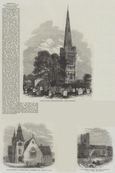 British Churches--Giclee Print