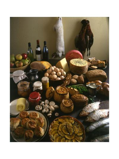British Country Fare--Giclee Print