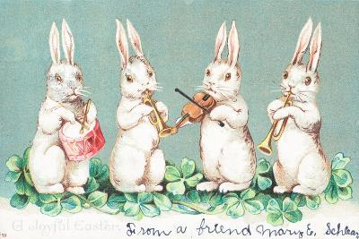 British Easter Card--Giclee Print