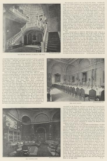British Embassy in Berlin--Giclee Print