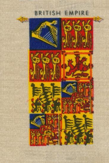 'British Empire - Standard of H.M. The Queen', c1910-Unknown-Giclee Print