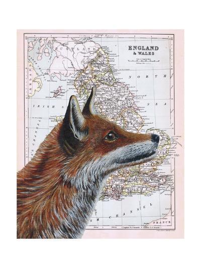 British Fox-Jane Wilson-Giclee Print