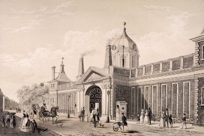 British Museum, London, C1845-Frank Trulock-Giclee Print