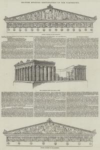 British Museum, Restoration of the Parthenon