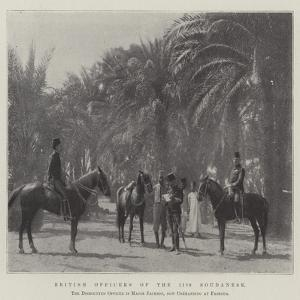 British Officers of the 11th Soudanese