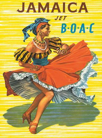 British Overseas Airways Corporation: Jamaica - Jet BOAC, c.1950s