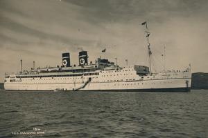 British Passenger Ship Ss Arandora Star of the Blue Star Line, 1936