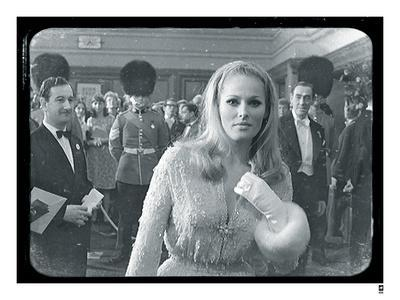 Ursula Andress Black & White