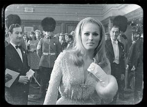 Ursula Andress Black & White by British Pathe