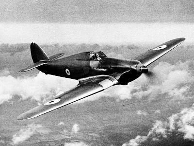 British RAF Hawker Hurricane--Photographic Print