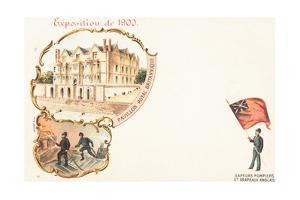 British Royalty Pavilion, Exposition Universelle, Paris, 1900