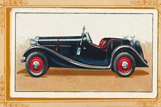 'British Salmson 20-90 Sports Two-Seater', c1936-Unknown-Giclee Print